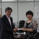 박종두 부회장과 복지관 대표