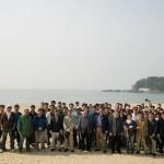 해변정화 활동중인 협회 및 회원사 임.직원